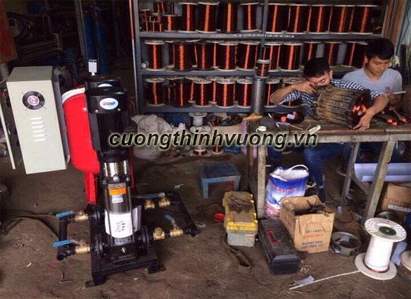 Thiết kế và lắp đặt hệ thống máy bơm tăng áp
