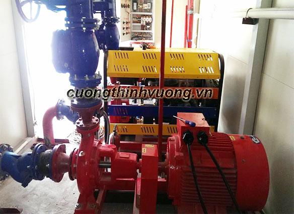 Thiết kế và lắp đặt tủ điện cho hệ thống phòng cháy chữa cháy