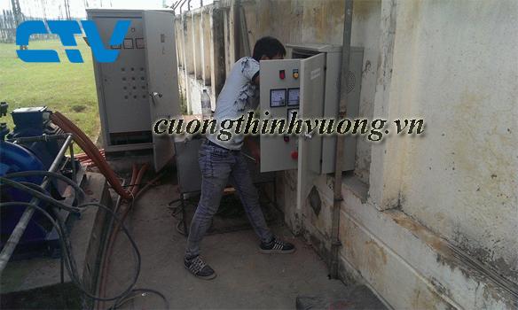 Lắp đặt và thiết kế tủ điện cho hệ thống xử lý nước thải