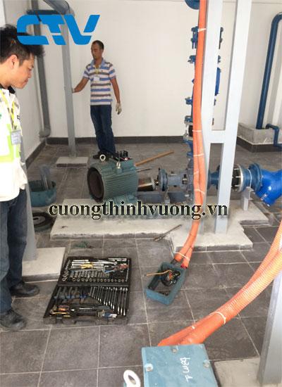 Lắp đặt hệ thống máy bơm cấp nước sinh hoạt cho các tòa nhà chung cư uy tín nhất tại Hà Nội