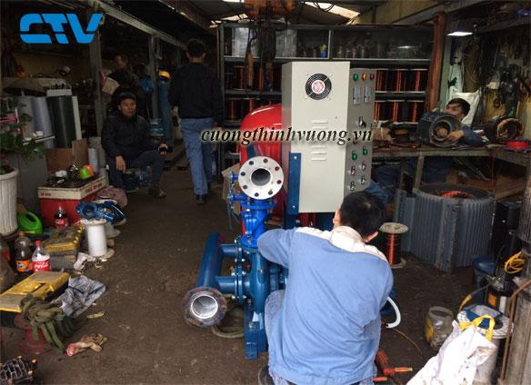 Dịch vụ sửa máy bơm nước giá tốt cho khách hàng tại Miền Bắc