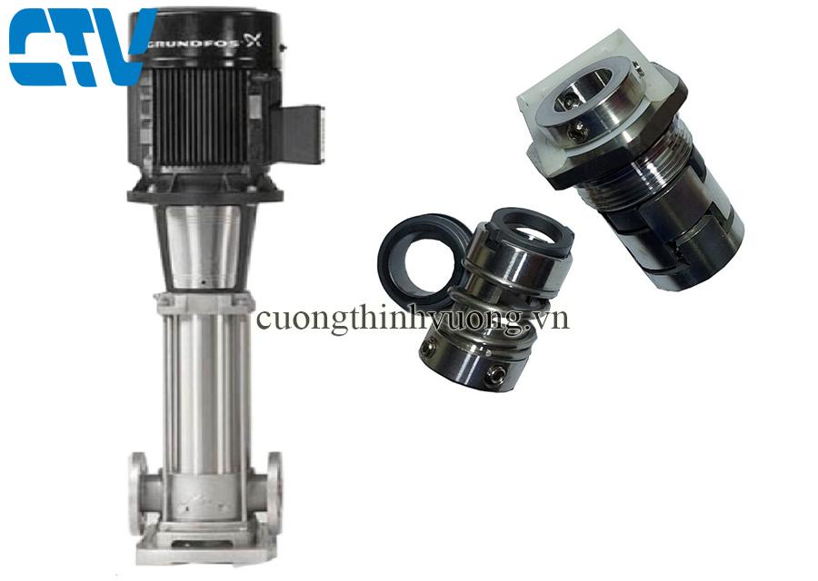 Phớt máy bơm, phớt bơm công nghiệp model Grundfos CRI 1, 1S, 3, 5, 10, 15, 20